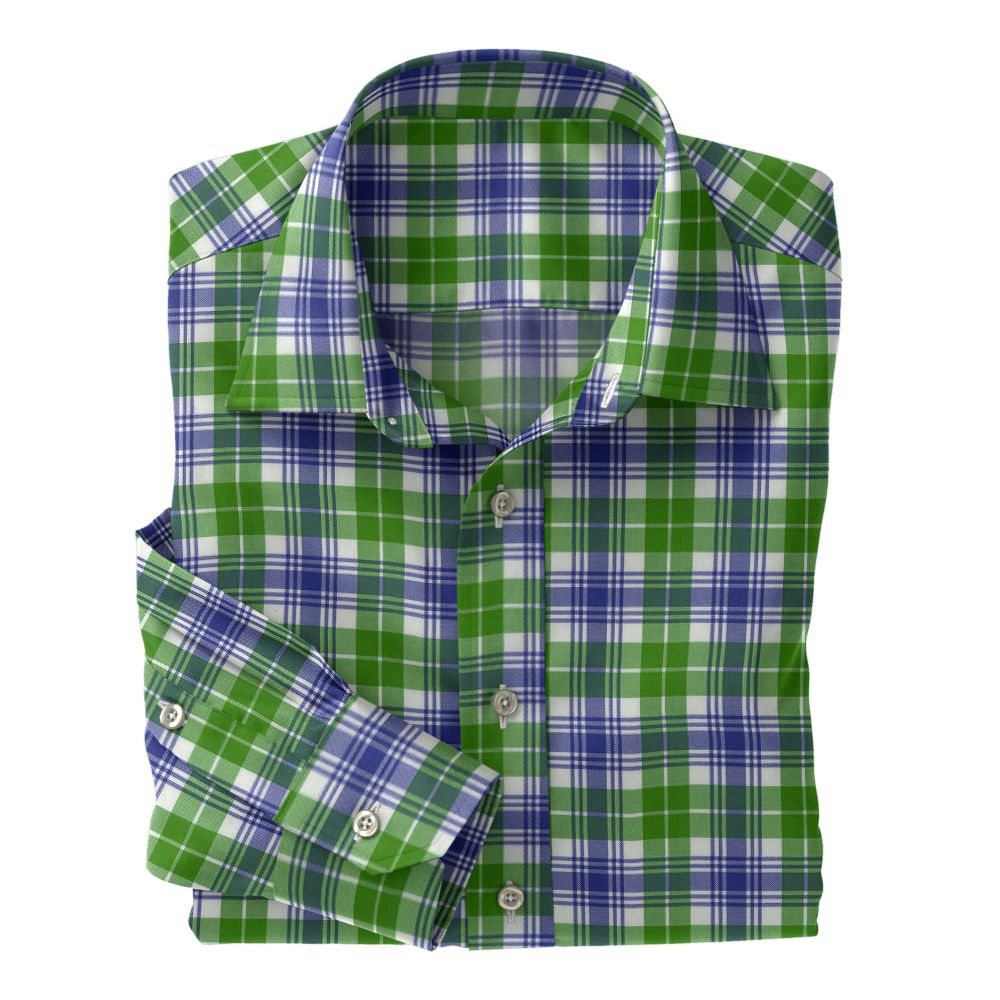 Light Green Purple Plaid