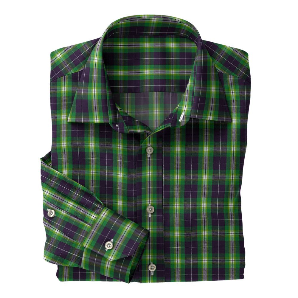 Light Green Brown White Plaid