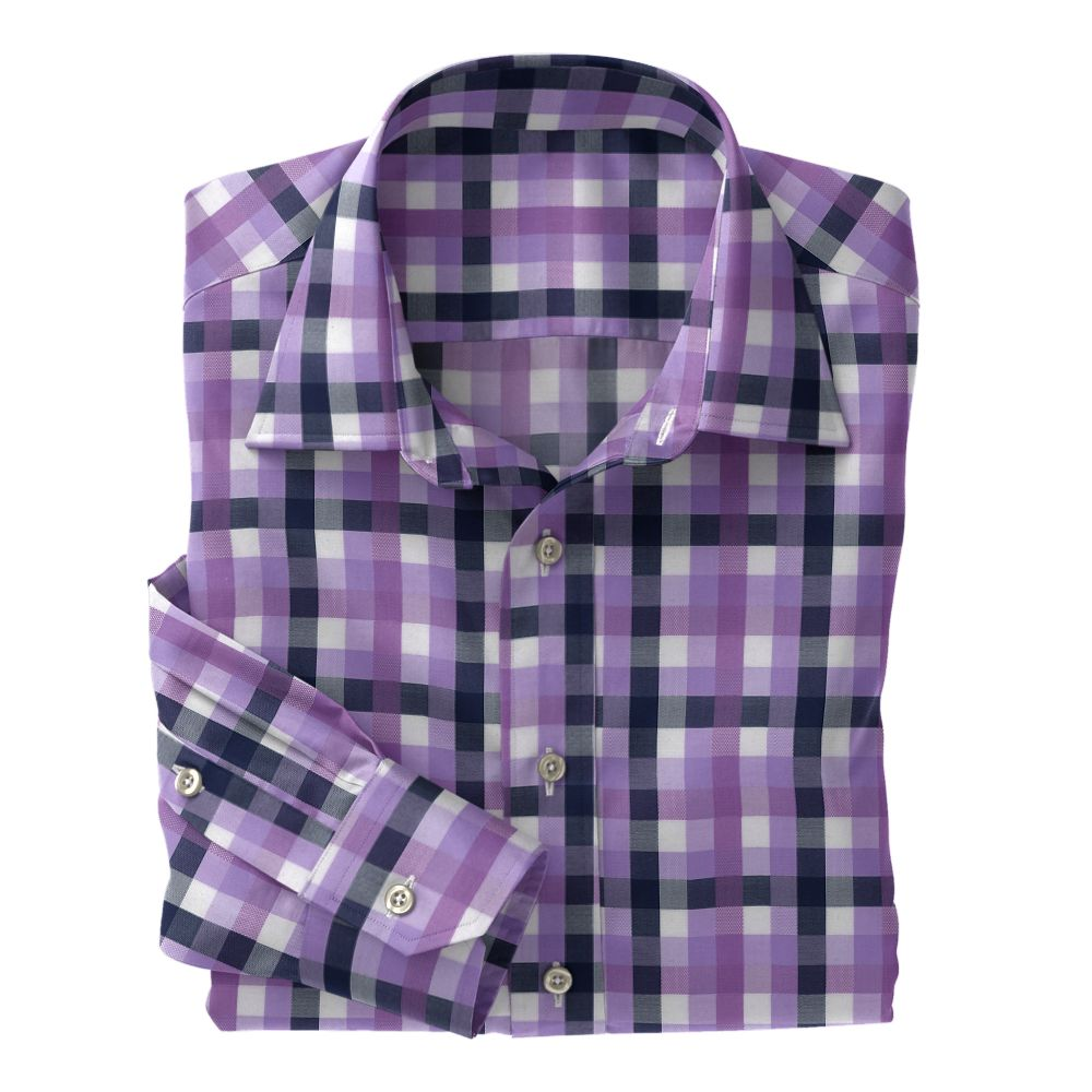 Lavender Navy Multi Check