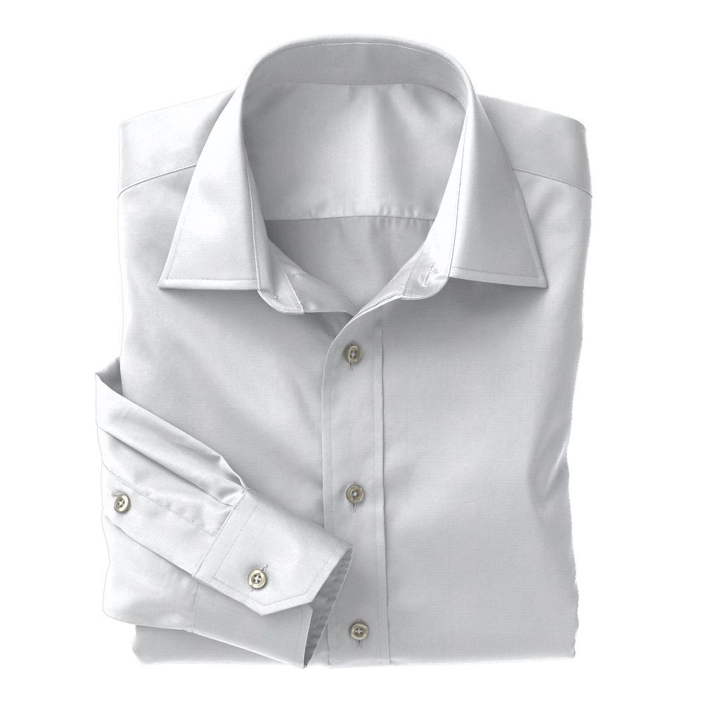 White Pinpoint Non-Iron Classic Whites