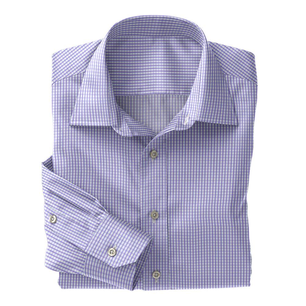 Lavender Twill Check