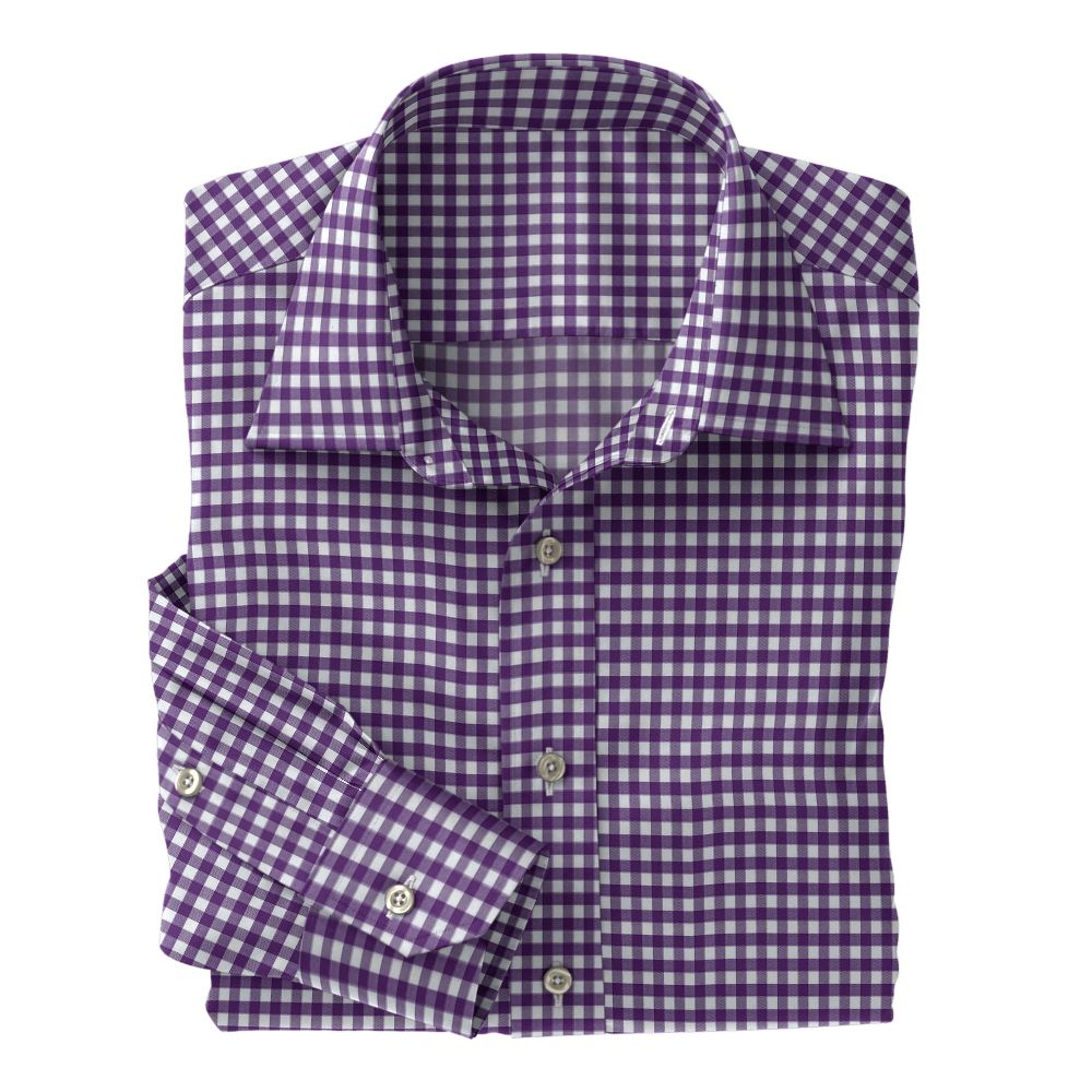 Violet Fancy Woven Check