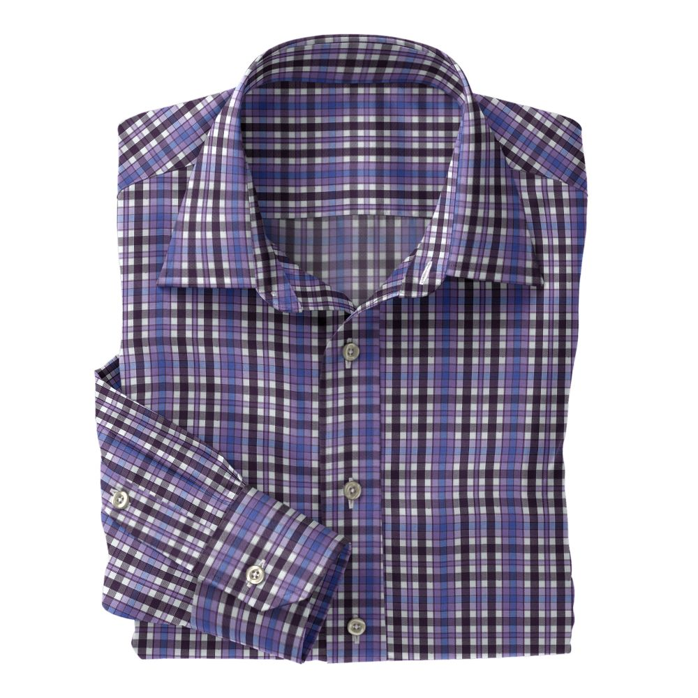 Violet Purple Blue Plaid