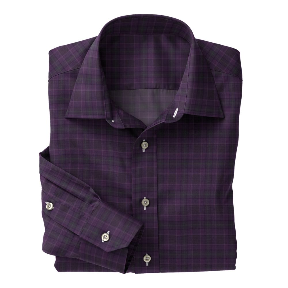 Purple Sage Fancy Plaid
