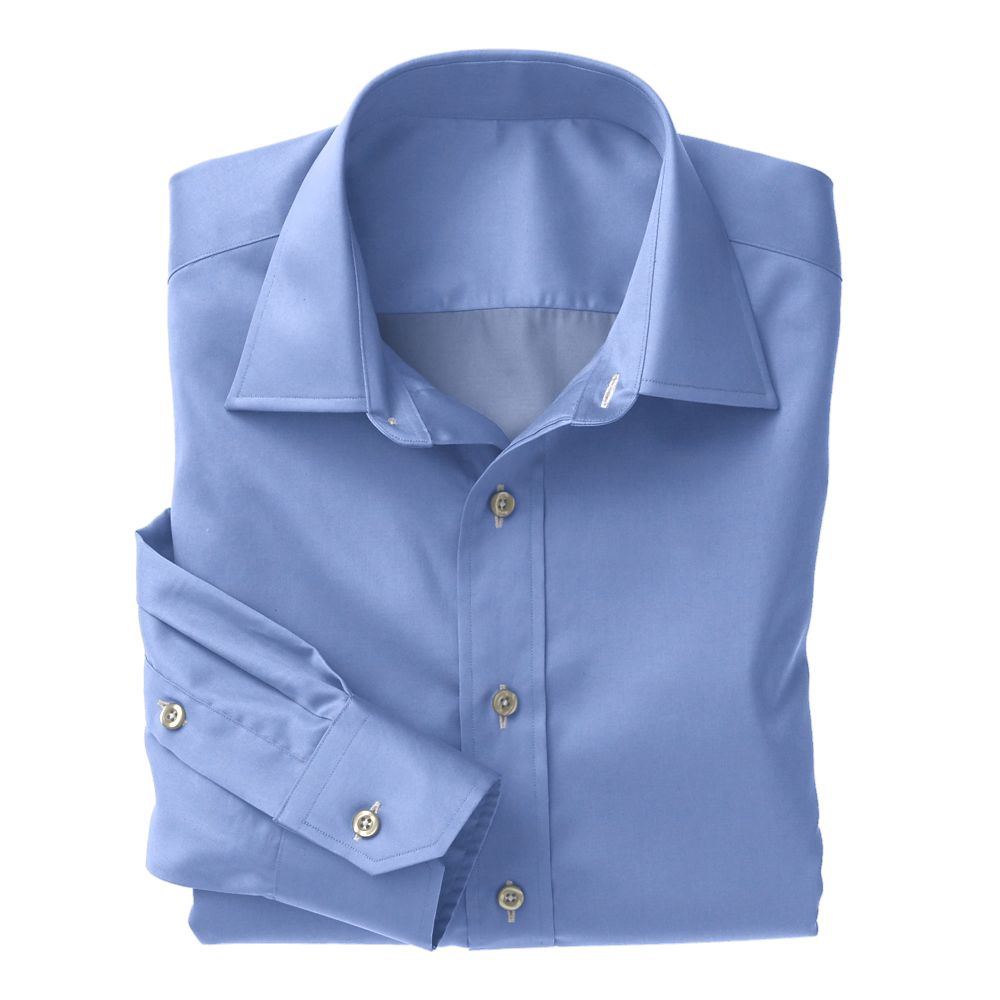 Light Blue Poplin