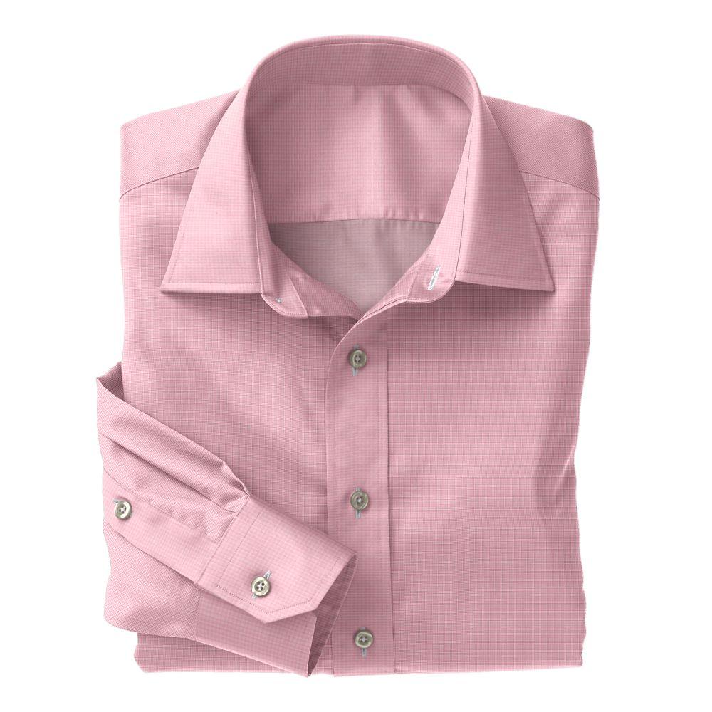 Pink Tic Weave Poplin