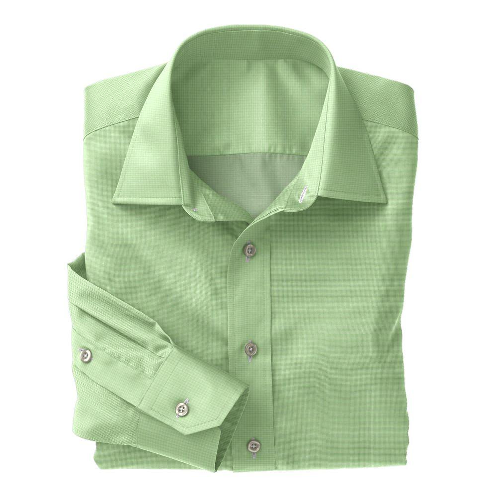 Lime Green Tic Weave Poplin