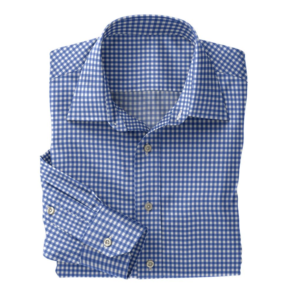 Light Purple Check Poplin