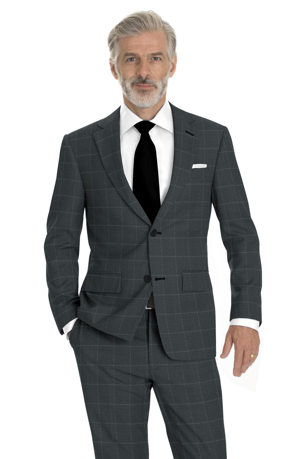 Light Gray Windowpane