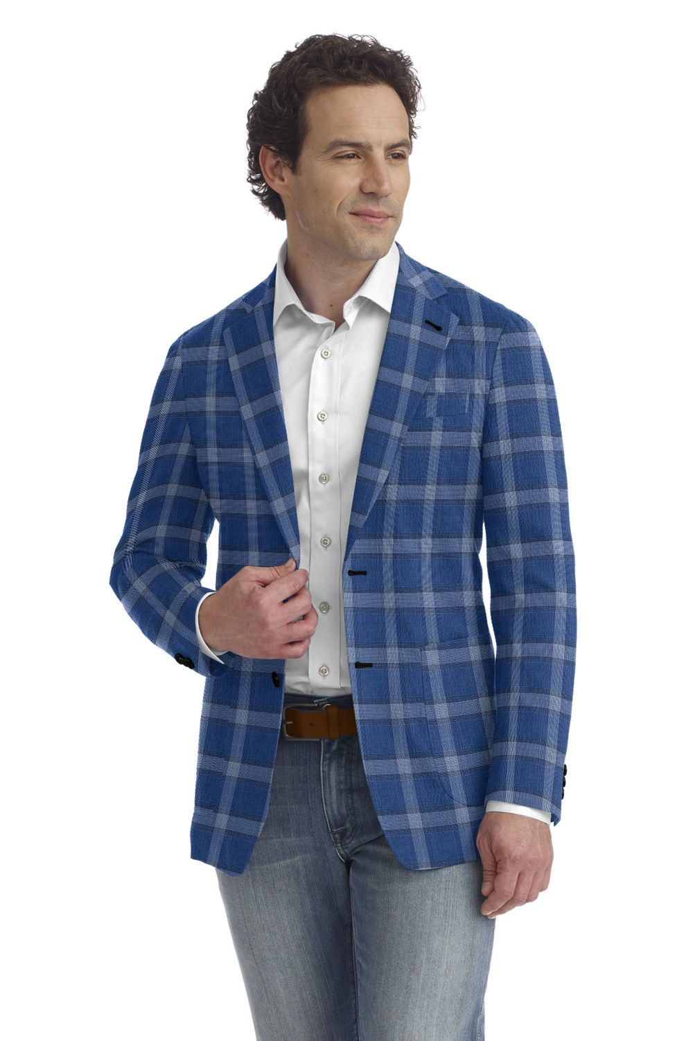Blue Bold Plaid