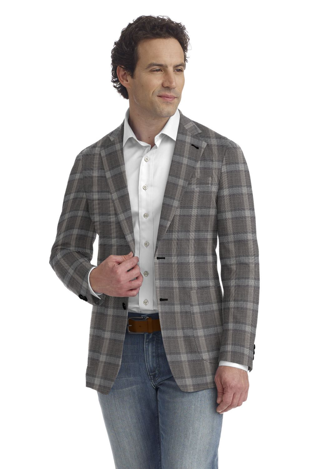 Gray Bold Plaid