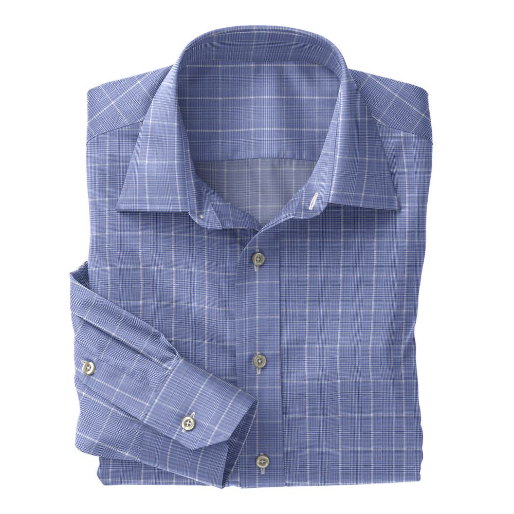 Light Purple Plaid Twill