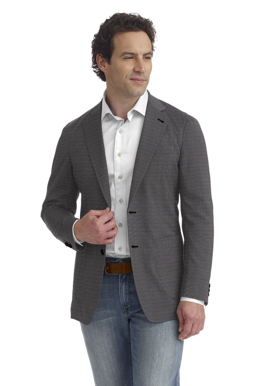 Grey Silver Weave