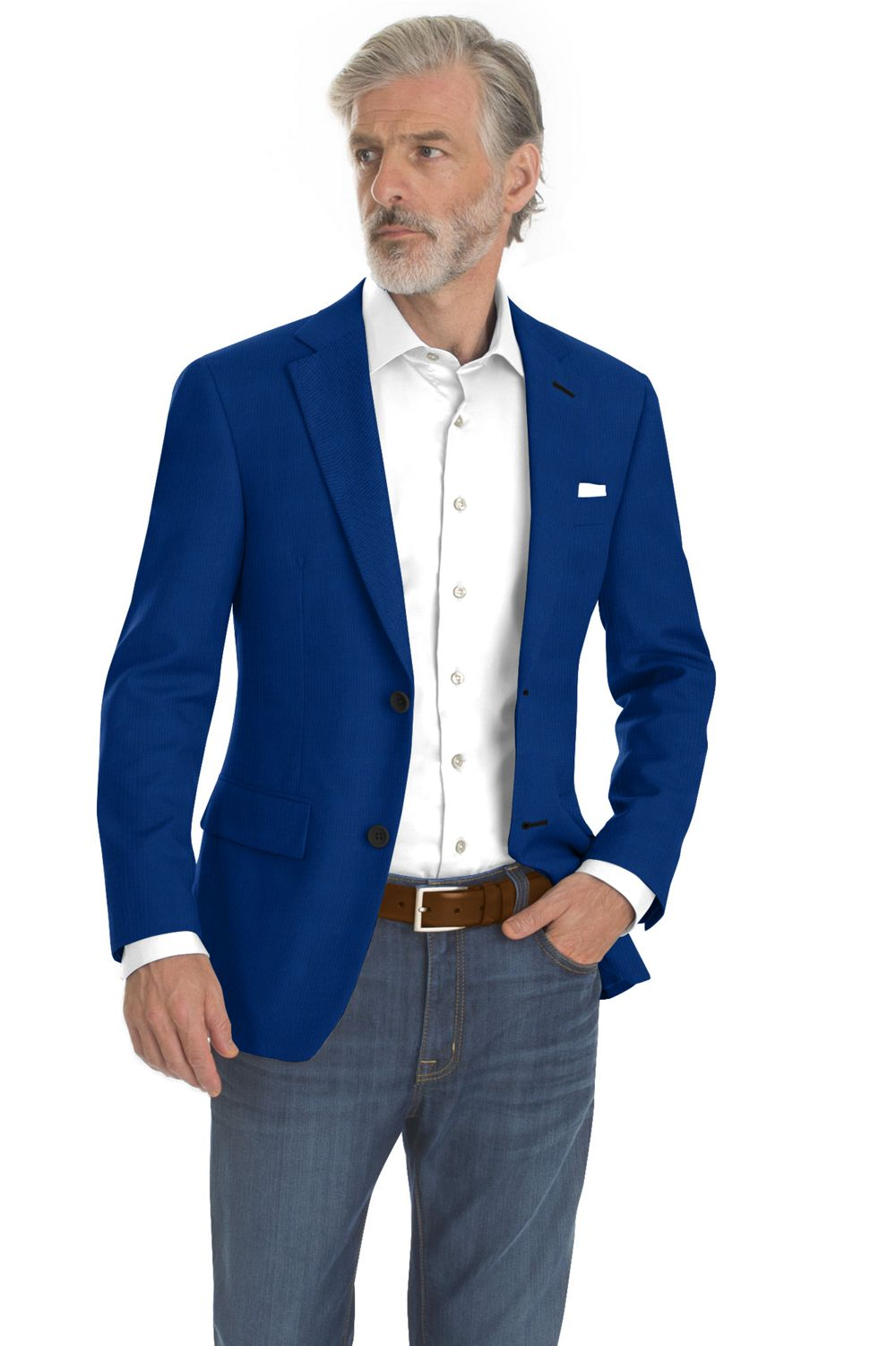 Royal Blue Textured Solid