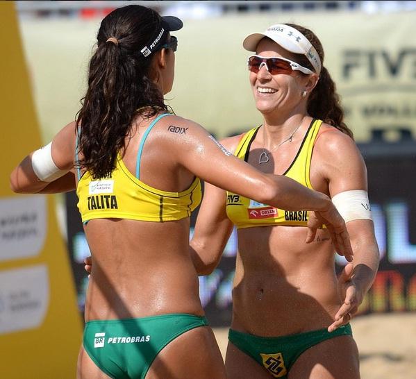 Atletas foram campeãs do Rio Open de forma invicta, com sete vitórias. Foto: Instagram/Divulgação