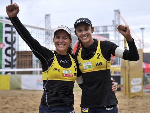 Parceria entre as duas atletas teve início em junho de 2014. Foto: Instagram/Divulgação
