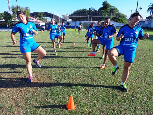 Caucaia tentará o título inédito do Campeonato Brasileiro Feminino. Foto: Grêmio Recreativo Pague Menos/Divulgação