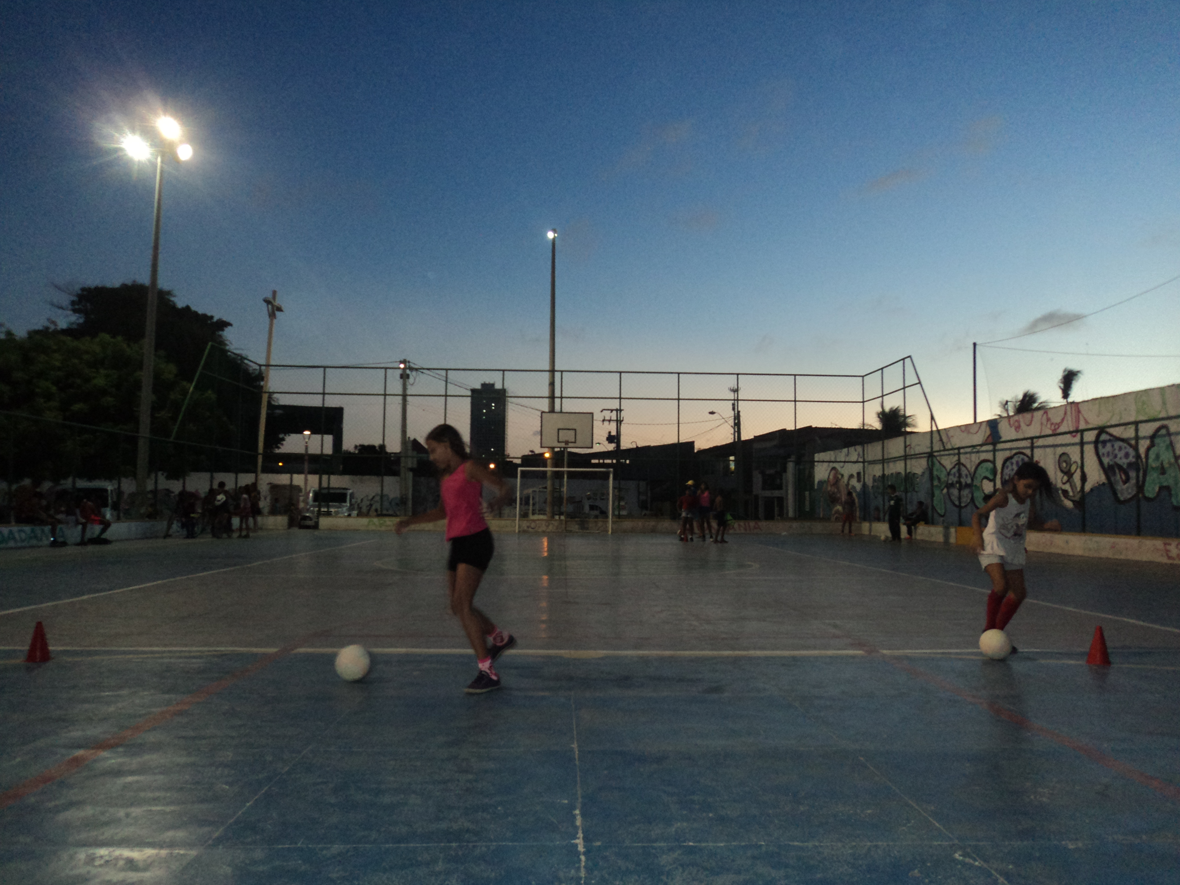 Aulas são realizadas de segunda a sexta. Foto: Guilherme Custódio