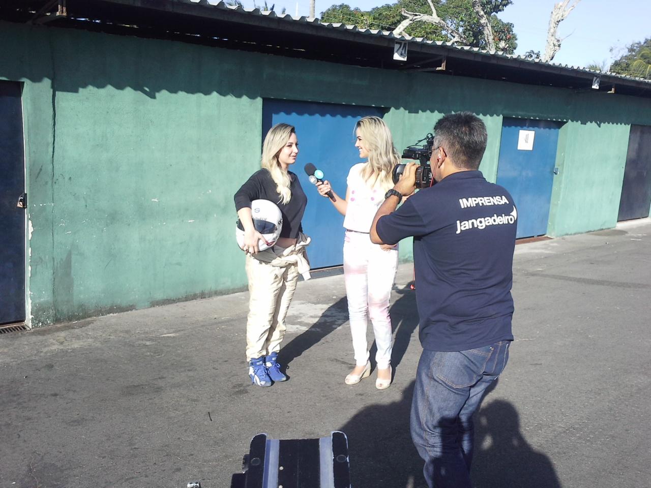 Bastidores da gravação do programa Gente Na TV. Foto: Thiago Conrado