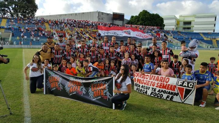 Valdeci e Da silva marcaram os gols do Tubarão da Barra. Foto: Ferroviário/Divulgação