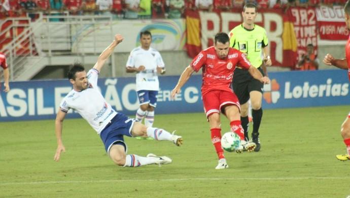 Daniel Sobralense, Edimar e Anselmo marcaram os gols da partida. Foto: Canindé Pereira/América FC