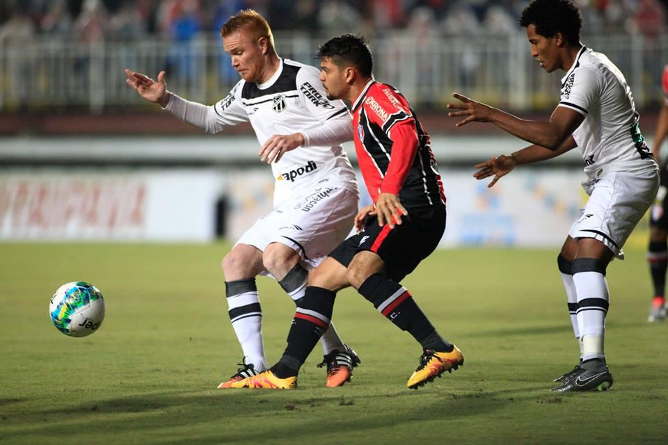 O gol do Alvinegro foi marcado pelo volante Richardson aos 29 minutos do segundo tempo. Foto Assessoria Joinville/SC