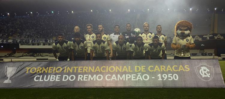 O Leão paraense rugiu mais alto e venceu a partida. Foto: Ingrid Bittencourt/Ascom Clube do Remo