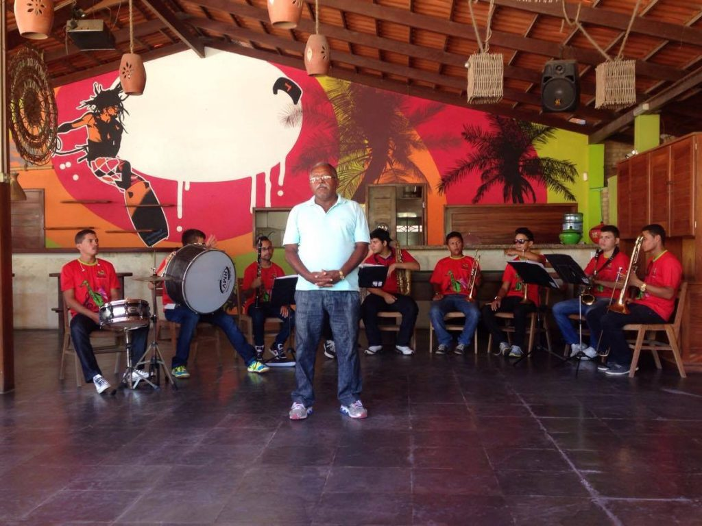 Banda de Música de Paracuru. (FOTO: Rosana Romão)