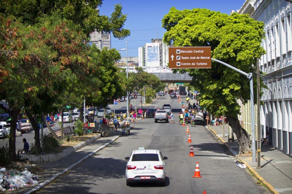 Vista do centro da cidade. (FOTO: Raíssa Caldas)