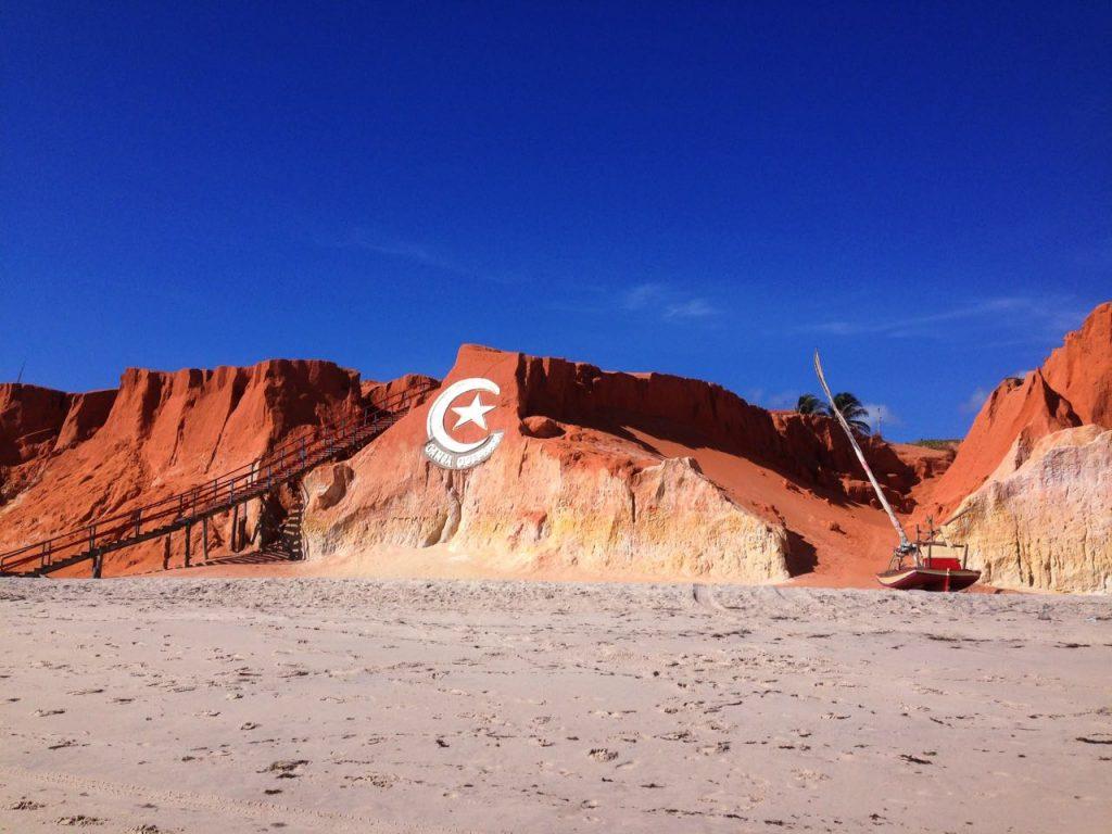 Corrida passará pelos principais pontos turísticos de Canoa Quebrada. (FOTO: Rosana Romão)