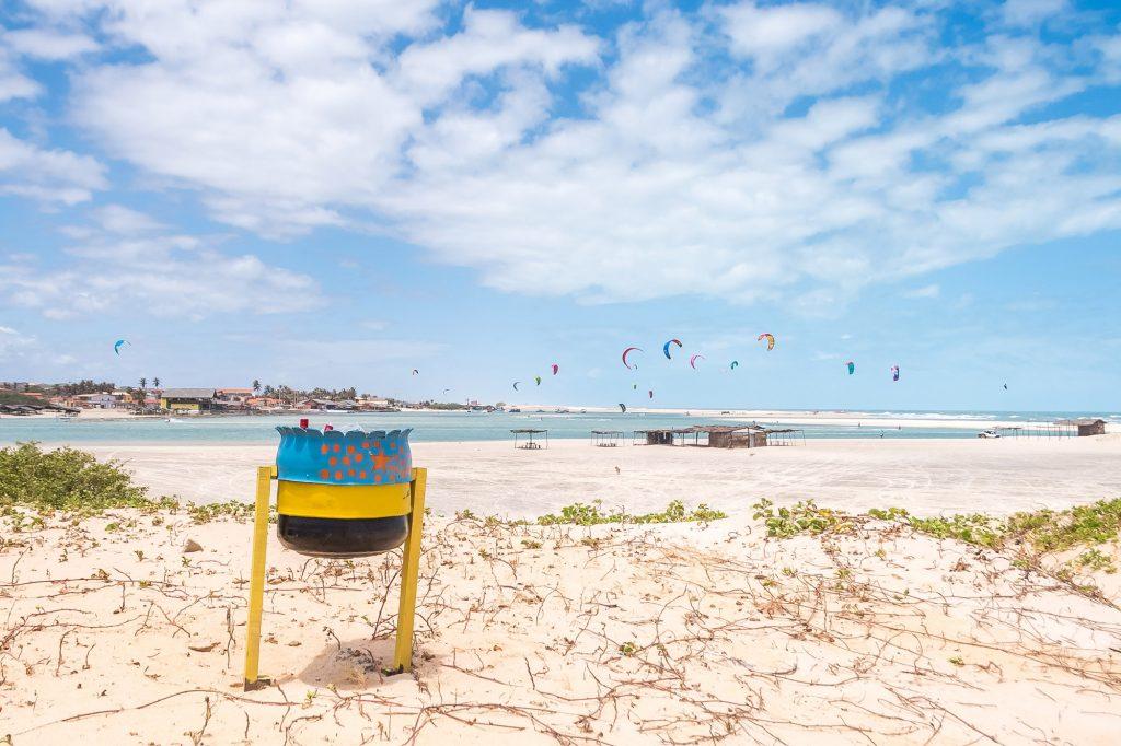A ação já mobilizou cerca de 500 moradores e voluntários dispostos a cobrir os pontos mais críticos das praias. (FOTO: divulgação)