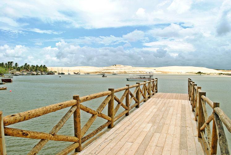 O Rio Mundaú convida a um passeio de catamarã. (FOTO: divulgação)