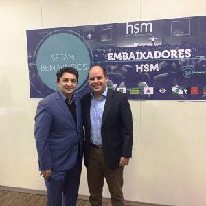 EDUARDO GOMES DE MATOS E GUILHERME SOAREZ - CEO DA HSM