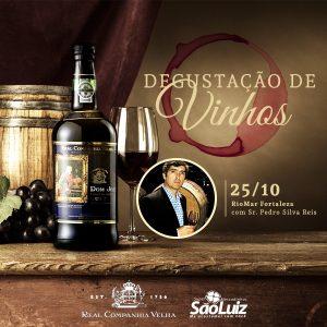Convite Degustação Vinho D. José