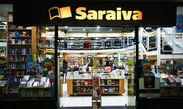 Resultado de imagem para imagens da livraria saraiva
