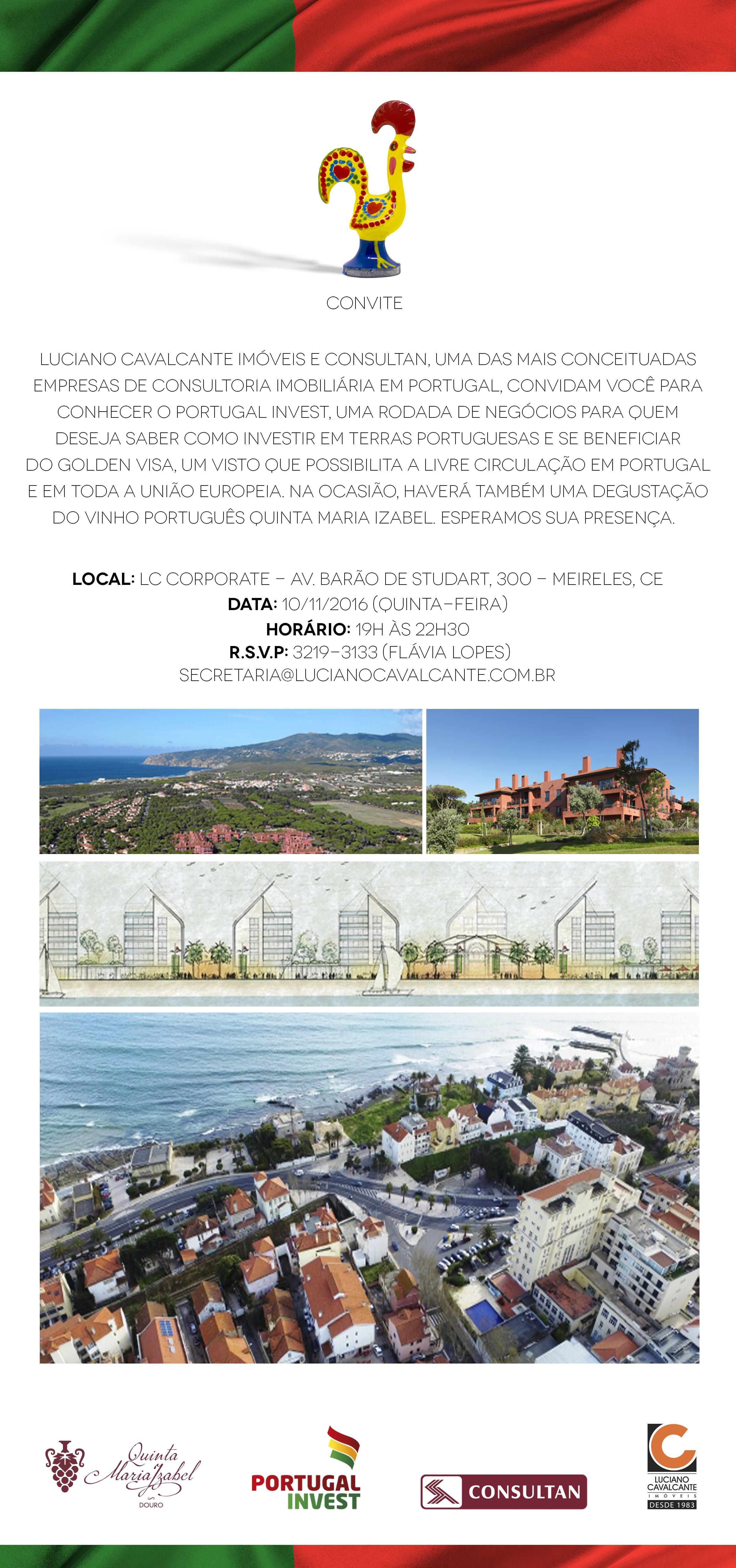 Portugal Invest será realizado em Fortaleza no dia 10 e apresentará ... de8018387527f