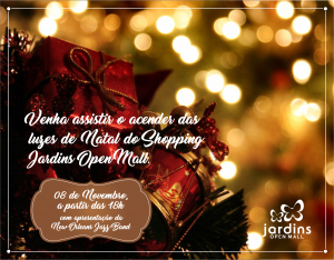Convite Jardins Open Mall