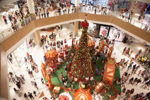 RIOMAR_decoração natal mall