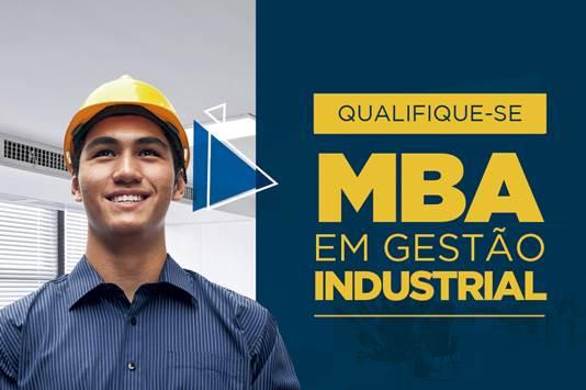 8cb84dd3e26c1 A Faculdade da Indústria do IEL CE está com inscrições abertas para o MBA  em Gestão Industrial, com turma em Fortaleza CE. O curso tem início no dia  08 de ...