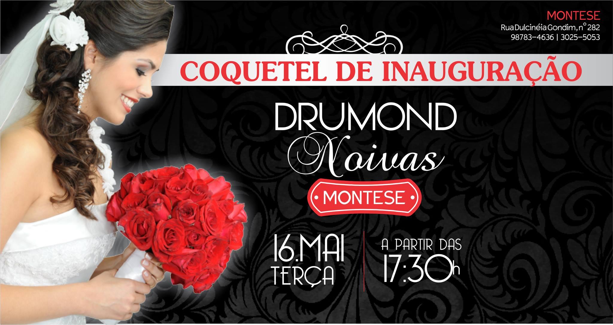 Drumond Noivas Atelier inaugura nova loja no bairro Montese 9e415d4295