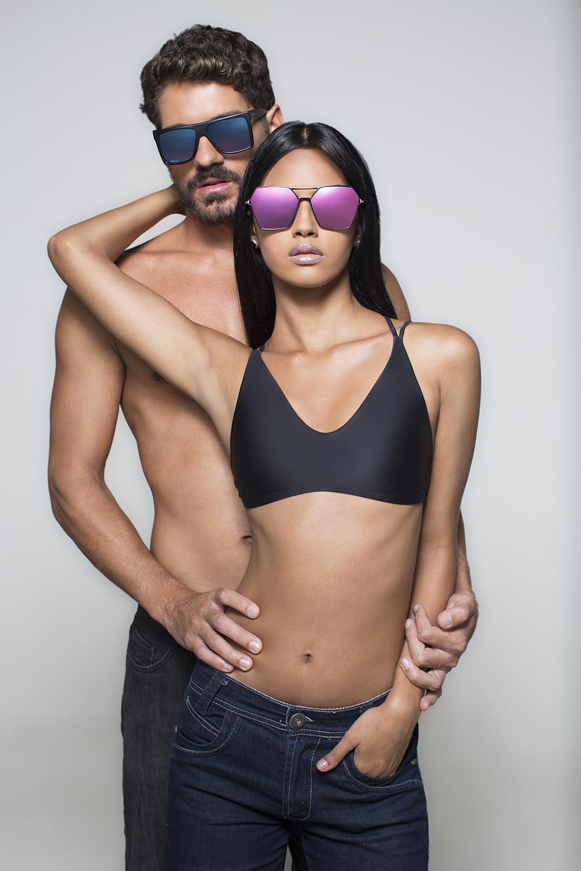 """b6840e16f Ferrovia Eyewear lança campanha """"Encaixa bem"""" para o Dia dos Namorados"""