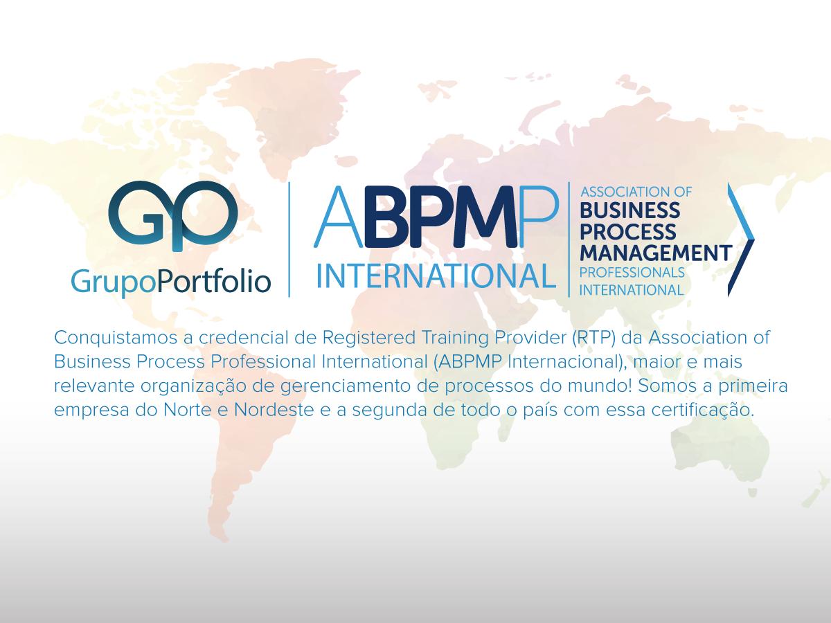 ac823163e1 O Grupo Portfolio é a primeira empresa do Norte Nordeste e segunda empresa  do país a conquistar a credencial de Registered Training Provider (RTP) da  ...