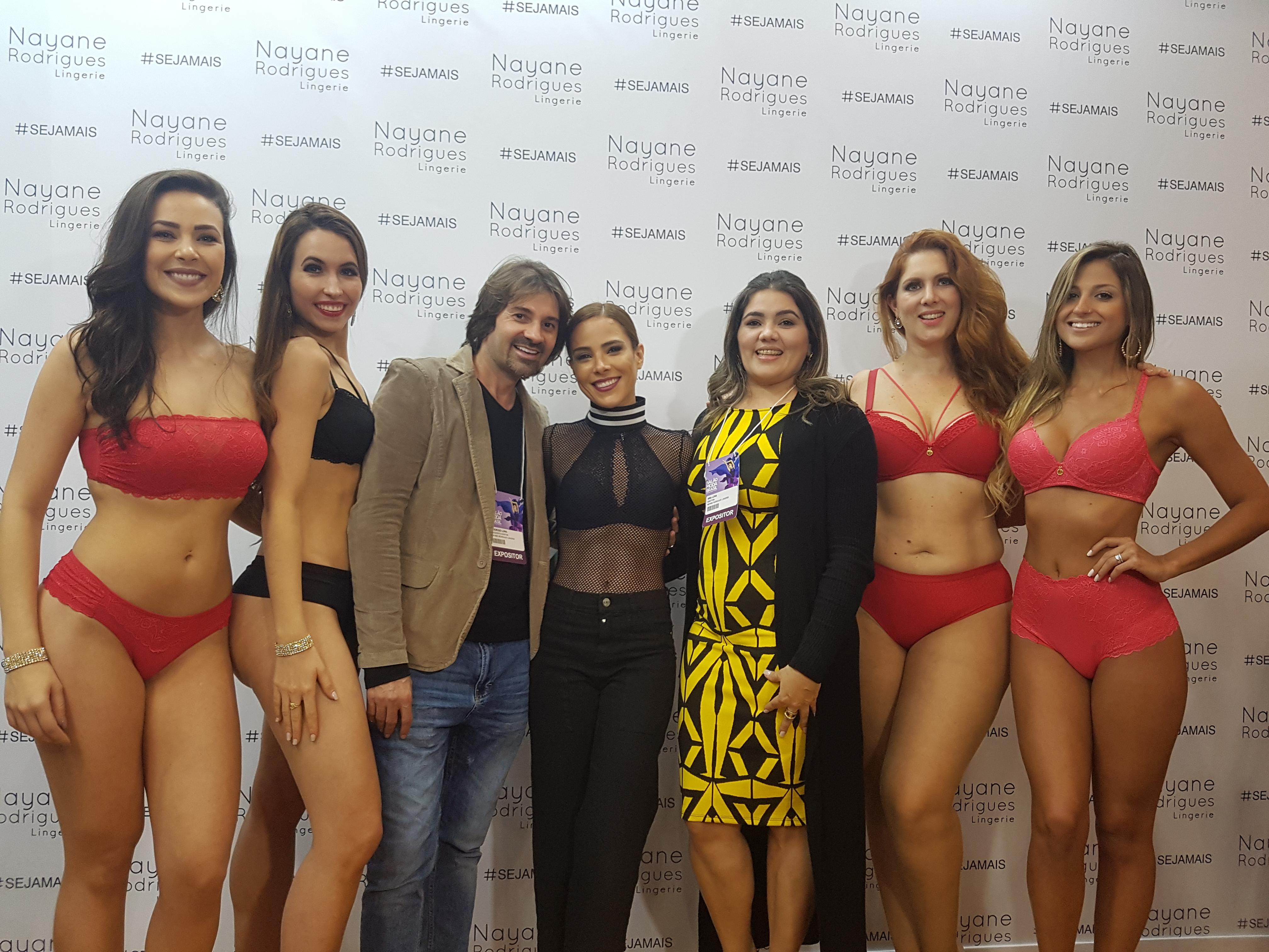 cb034db2c Nayane Rodrigues Lingerie comemora sucesso no Salão Moda Brasil 2017