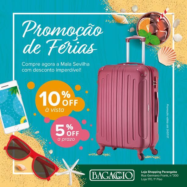 a89110c4b3f Bagaggio lança campanha de férias
