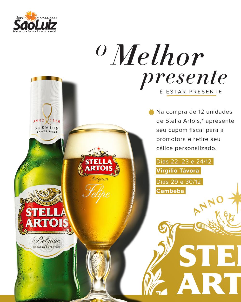 cbe149a152 Mercadinhos São Luiz e Stella Artois lançam promoção nas lojas do Cocó e  Cambeba