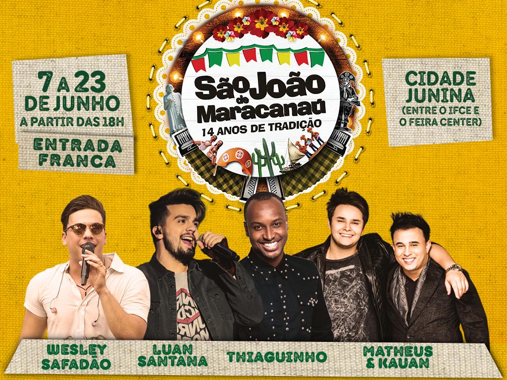 Shows   O Maior e Melhor São João do Ceará acontece de 7 a 23 de junho cb3d4f1740b12