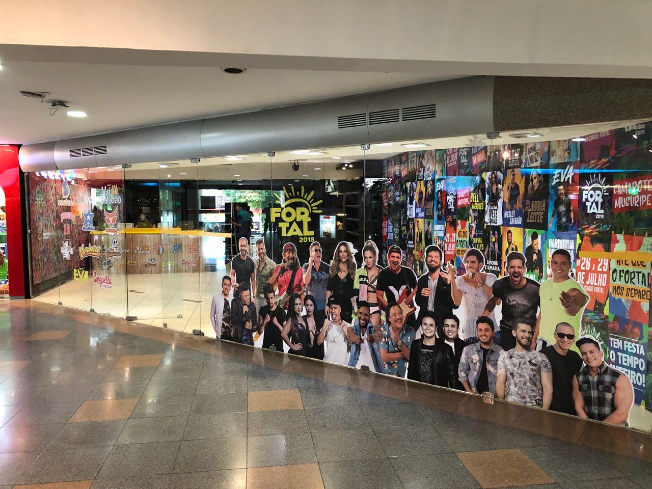 e98f575b85 Centrais do Fortal são inauguradas em cinco shoppings de Fortaleza
