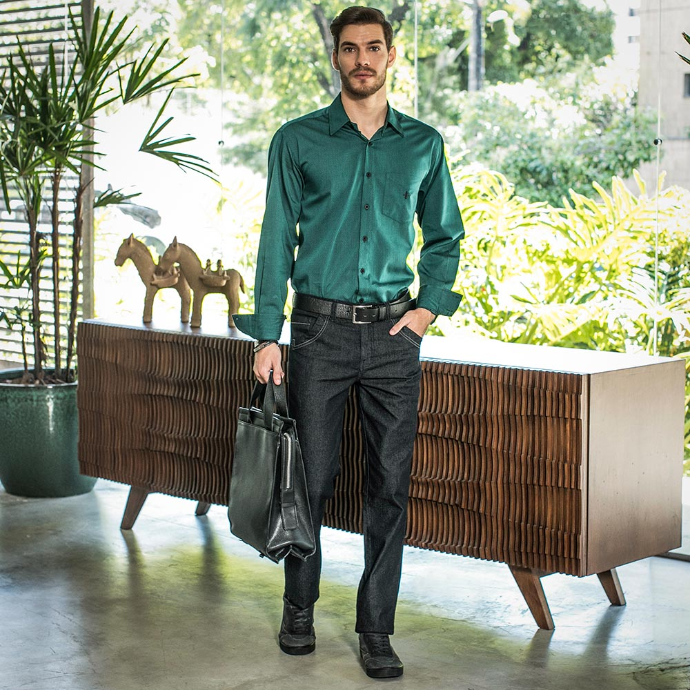 Estilo Feitiço traz dicas de como escolher a camisa social ideal 1d6a9784dd1a6