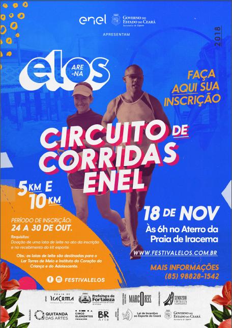 8f30b91815ed4 O calendário de corridas de rua de Fortaleza tem uma novidade. A partir  desta quarta (24), estão abertas as inscrições para o Circuito de Corridas  – Enel, ...