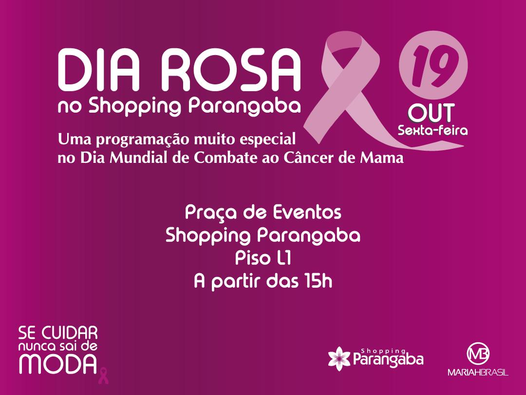 Em Aluso Ao Dia 19 De Outubro Que Comemorado O Internacional Combate Cncer Mama Shopping Parangaba Parceria Com A Loja Mariah